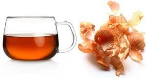 Чай из луковой шелухи вред