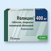 В основном при лечении применяются антибиотики, такие как Нолицин