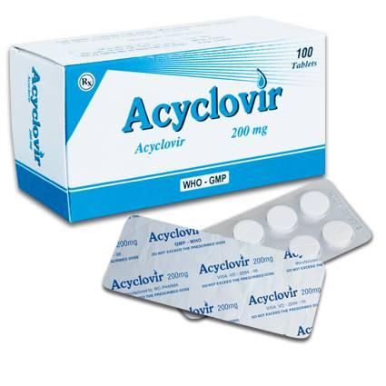 ацикловир таблетки для печени