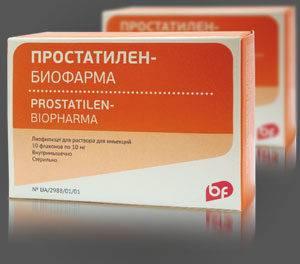 Препарат Простатилен Биофарма в российских аптеках не реализуется – его доставка осуществляется с Украины