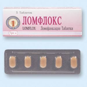 Ломфлокс — противомикробный препарат