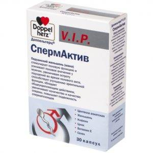 Препарат Спермактив