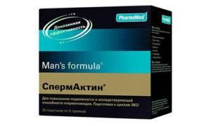 Препарат Спермактин