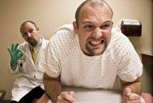 Если мужчине не удается расслабится во время массажа простаты, возникает боль