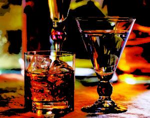 Биологические добавки не следует смешивать с алкоголем,