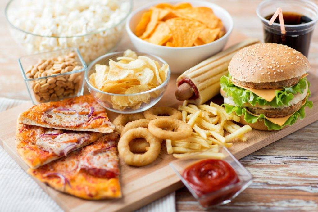 unhealthy food choices in american college campuses