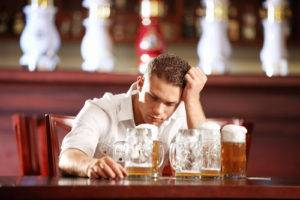 Нельзя употреблять спиртное перед терапией
