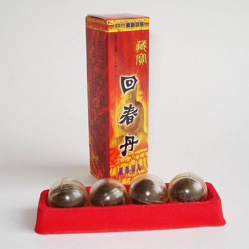 Как принимать китайские шарики для потенции