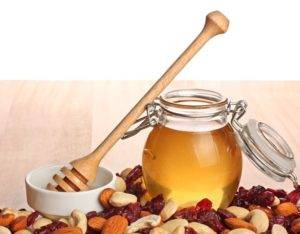 Мед и орехи для потенции
