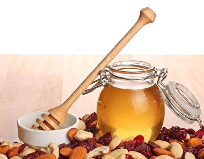 Мед и орехи <b>для</b> потенции у мужчин: грецкие орехи, миндаль ...