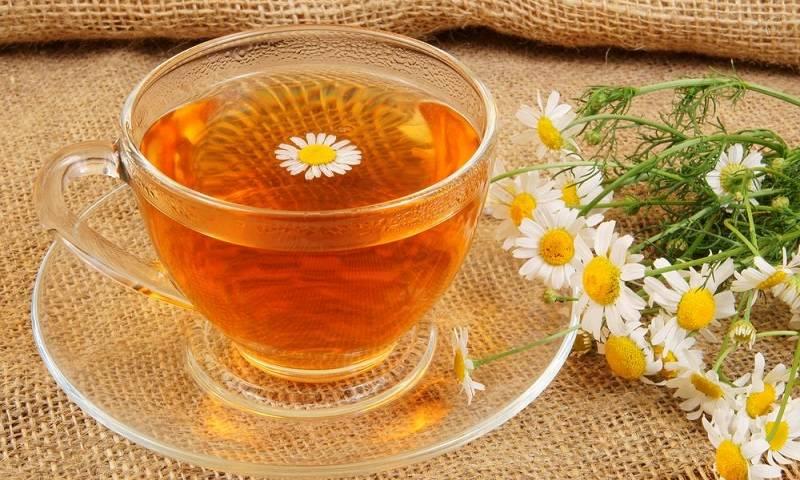 Как сделать чай из ромашек