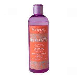 Шампунь Эвиналь с плацентой от выпадения волос