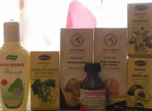 Масла для роста волос в аптеке